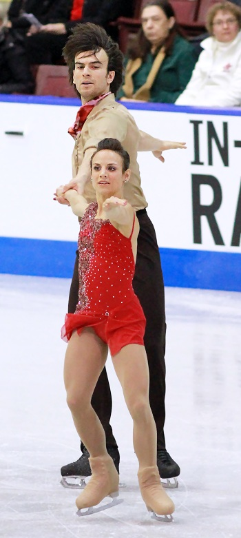 Meagan Duhamel and Eric Radford perform their Short Program at the 2013 Canadian National Figure Skating Championships.