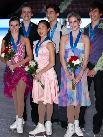 2013 Canadian National Figure Skating Championships: Novice Ice Dance