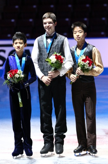 2013 Canadian National Figure Skating Championships: Novice Men