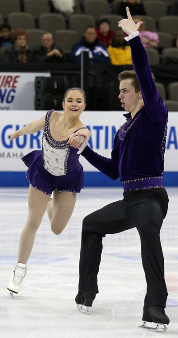 Britney Simpson and Matthew Blackmer perform their Long Program at the 2013 US National Figure Skating Championships.