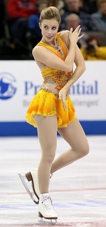 Ashley Wagner performs her Long Program at the 2013 US National Figure Skating Championships.