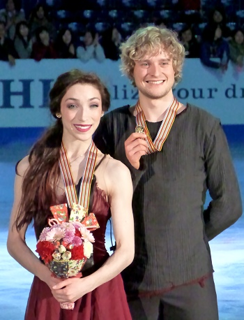 USA's Meryl Davis and Charlie White