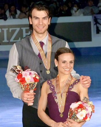 Meagan Duhamel and Eric Radford of Canada
