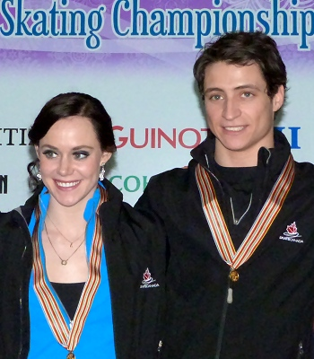 Canada's Tessa Virtue and Scott Moir