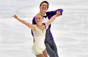 Julianne Séguin and Charlie Bilodeau