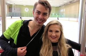 Kaitlin Budd and Matthew Blackmer