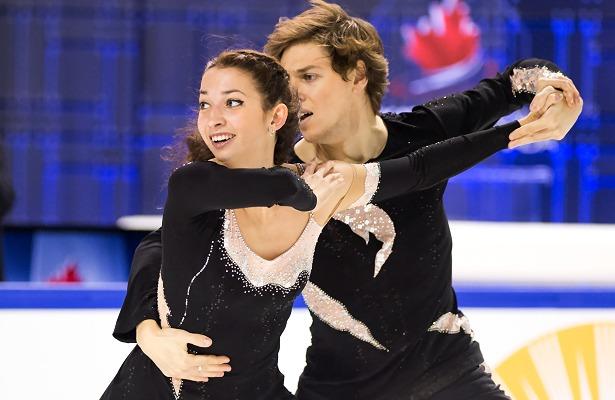 Ksenia Monko and Kirill Khaliavin