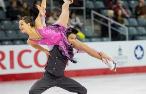Brianna Delmaestro and Timothy Lum