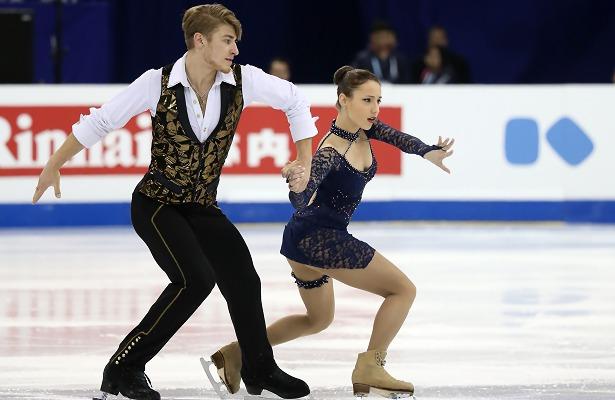 Kristina Astakhova and Alexei Rogonov