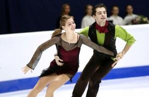 Alexandra Nazarova and Maxim Nikitin
