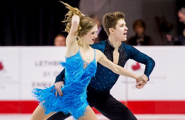 Lauren Collins and Shane Firus