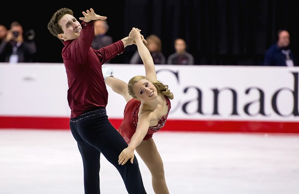 Julianne Seguin and Charlie Bilodeau
