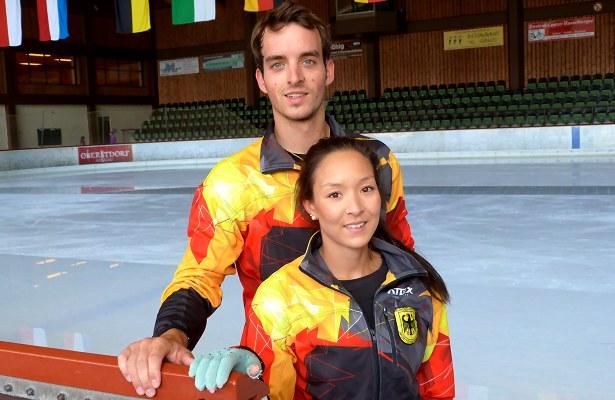 Mari Vartmann and Ruben Blommaert