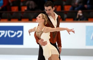 Alexa Scimeca and Chris Knierim