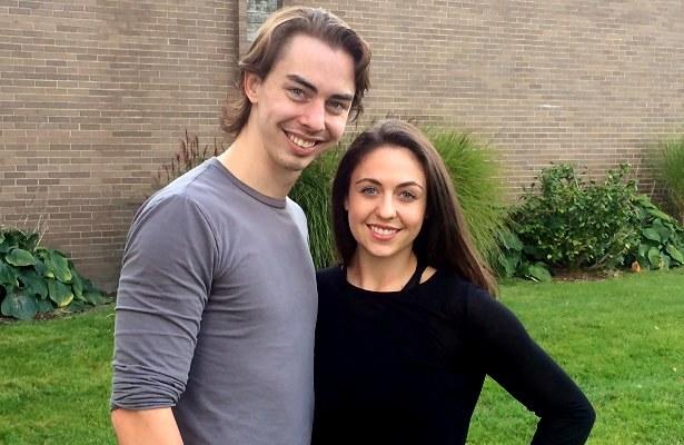 Alexandra Aldridge and Matthew Blackmer