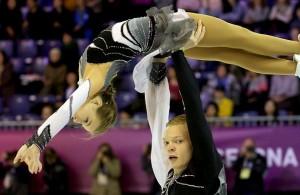 Ekaterina Borisova and Dmitry Sopot