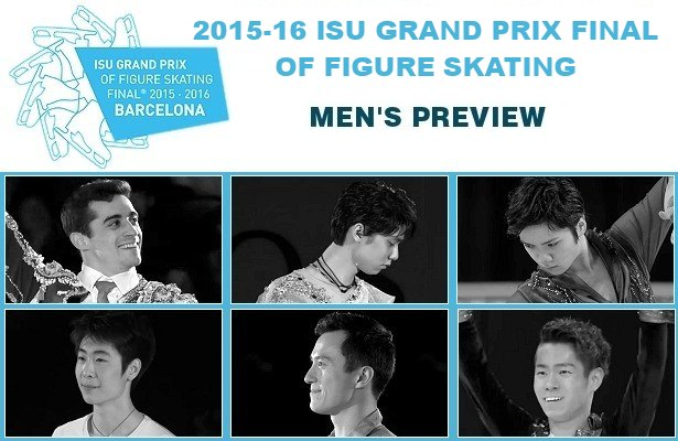 2015-16 ISU Grand Prix Final of Figure Skating: Men's Preview