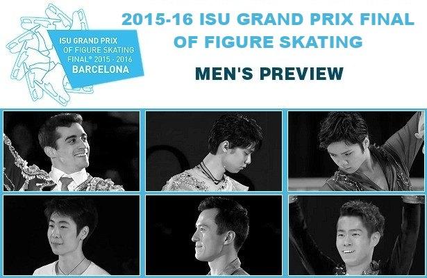 2015-16 ISU Grand Prix Final of Figure Skating: Men's Preview
