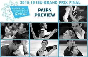 2015-16 Grand Prix Final of Figure Skating Preview: Pairs
