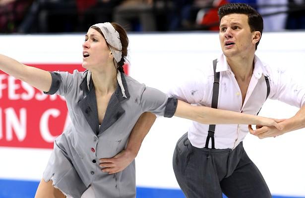 Charlene Guignard and Marco Fabbri