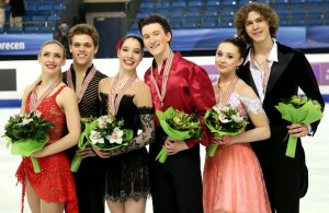 2016 World Junior Figure Skating Championships: Ice Dance Podium