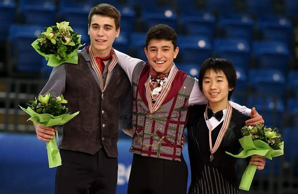 2016 World Junior Figure Skating Championships: Men's Podium