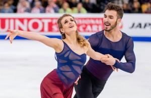 Gabrielle Papadakis and Guillame Cizeron