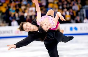 Sumire Suto and Francis Boudreau-Audet