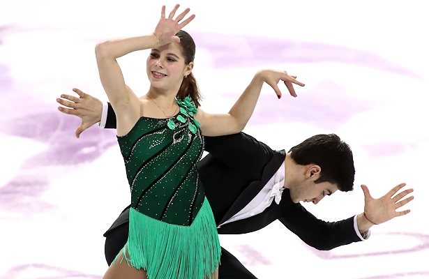 Anastasia Mishina and Vladislav Mirzoev