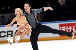 Aliona Savchenko and Bruno Massot