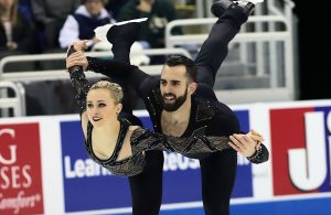 Ashley Cain and Timothy LeDuc