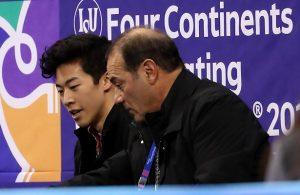 Nathan Chen and Rafael Arutyunyan