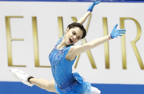 Mihara 2nd in free skate as Japan wins World Team Trophy