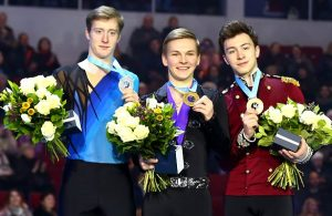 2018 Russan Nationals Men Podium