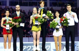 2018 Russian Nationals Pairs Podium