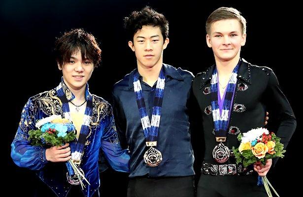 2017-18 Grand Prix Final of Figure Skating - Men's Podium