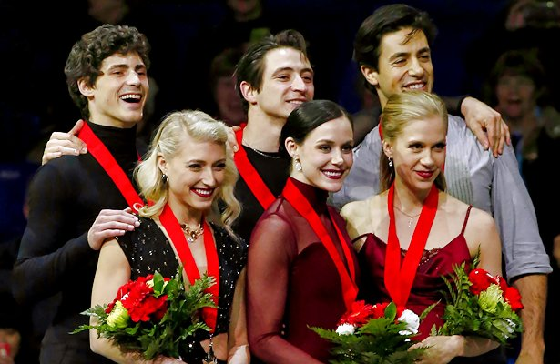 2018 Canadian Ice Dance Podium
