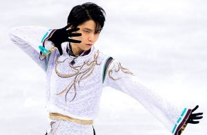 Yuzuru Hanyu of Japan