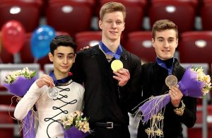 2018 World Junior Figure Skating Championships: Men's Podium