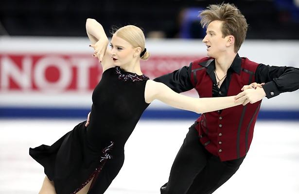 Anastasia Skoptcova and Kirill Aleshin