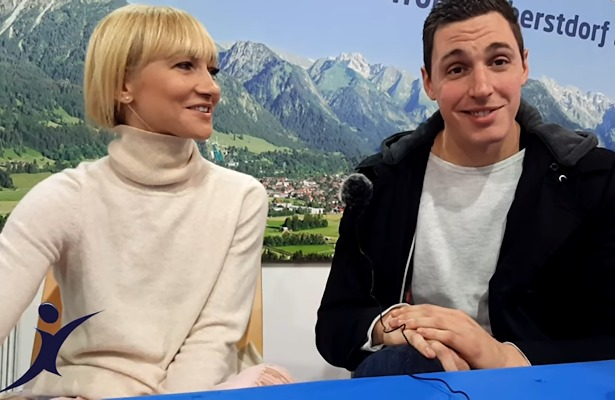 Aljona Savchenko and Bruno Massot