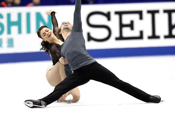 Kaitlin Hawayek and Jean-Luc Baker