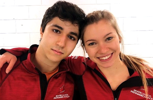 Marjorie Lajoie and Zachary Lagha