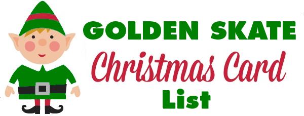 GS Christmas Card List