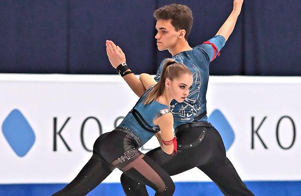 Polina Kostiukovich and Dmitrii Ialin