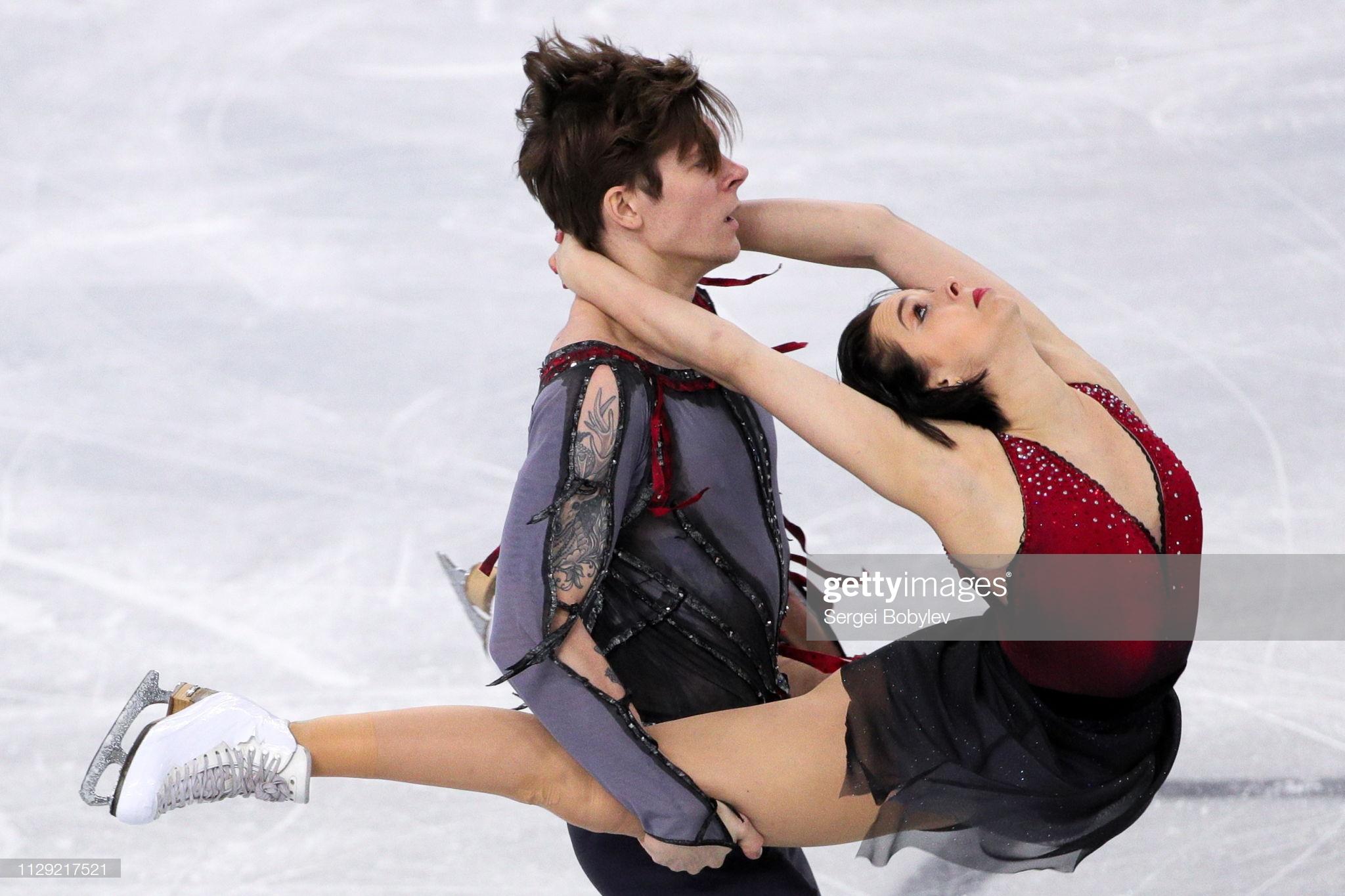 Betina Popova and Sergey Mozgov