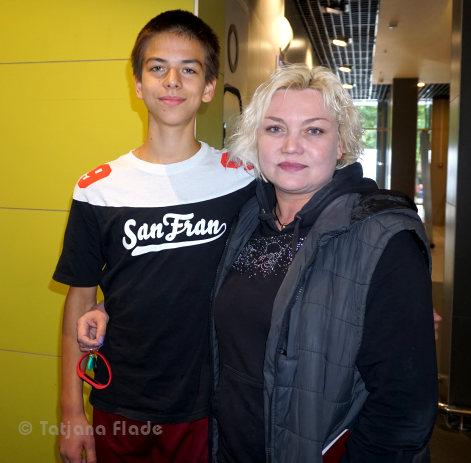 Petr Gumennik and Veronika Daineko
