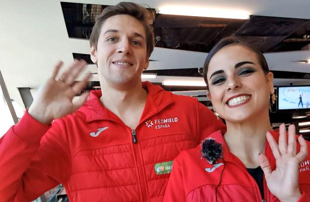 Sara Hurtado and Kirill Khaliavin