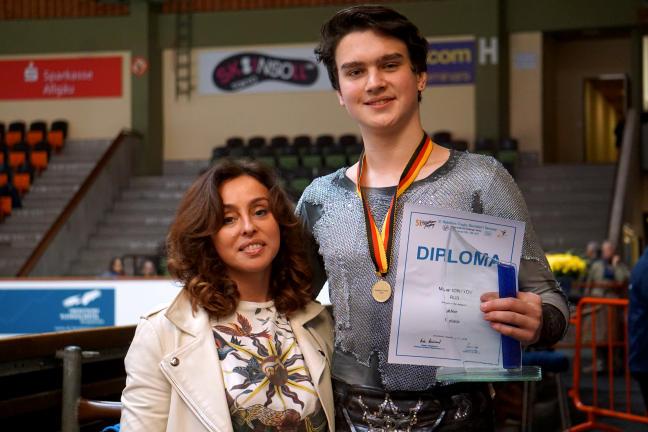 Makar Ignatov and Olga Germanovna Glinka