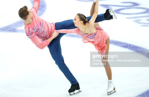 Boikova and Kozlovskii lead pairs at 2019 Rostelecom Cup